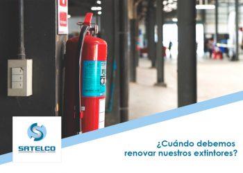 Renovar y revisar extintores